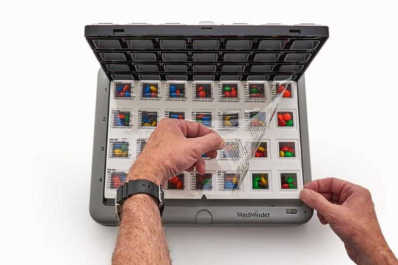 MedMinder Maya and Jon - medication dispensing systems for home use