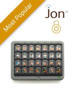 MedMinder Jon - Locked Medication Dispenser