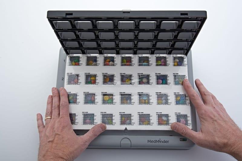MedMinder Pre-Filled Trays - pillbox